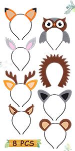 Wooland Animals  Headband