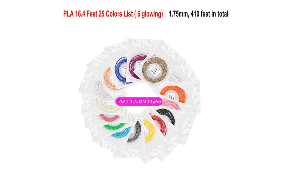 3D Pen/3D Pen PLA Filament Refills