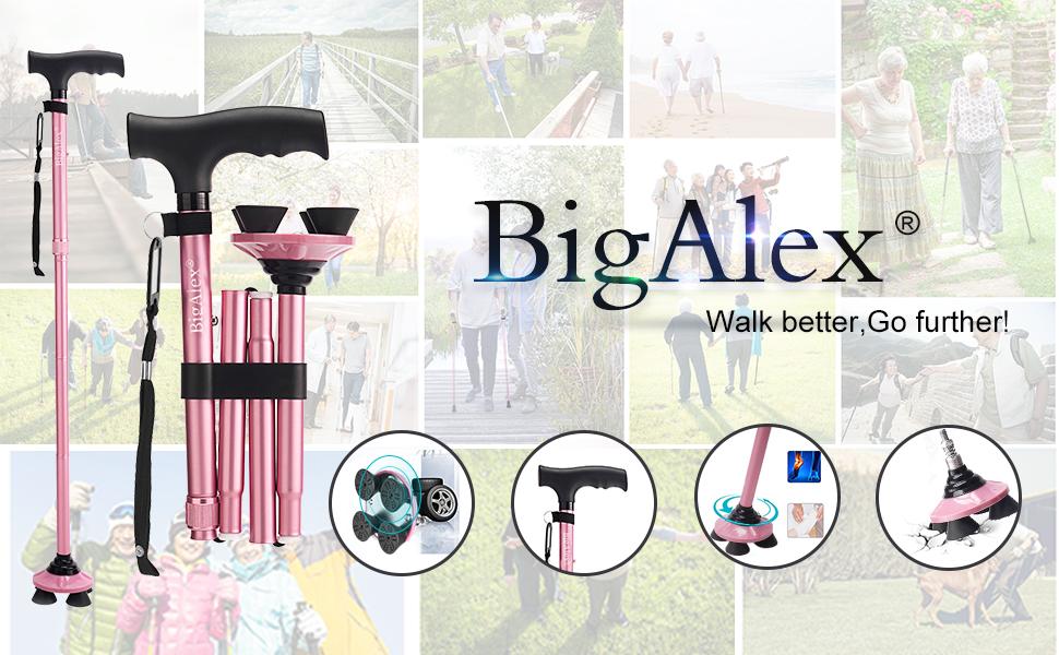BigAlex Walking Cane
