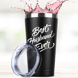 husband birthday birth gift for women and men him her tumbler tumblers stainless steel insulated