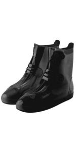 thick pvc,black,shoe cover
