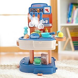 mini size kitchen toy set