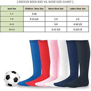 athletic sports team socks soccer socks