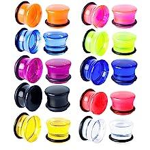 acrylic plugs