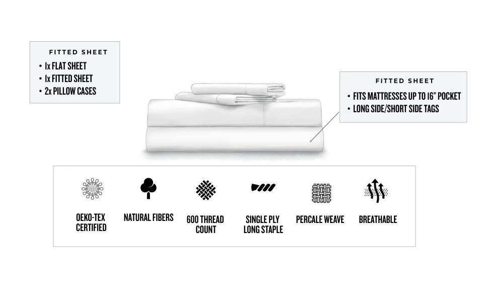 Duradera resistente a la decoloración Ropa de cama sintética lavable a máquina Algodón orgánico de