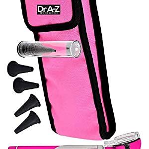 pink otoscope