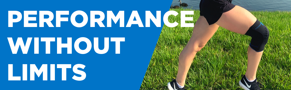 Perform without limits with Zensah Elite Gel Knee Sleeve