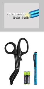 scissors with penlight