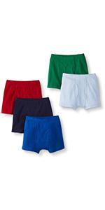 Boys Organic Cotton Boxer Brief 5pk