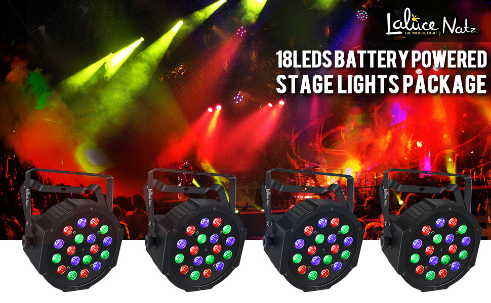 wireless stage lights package