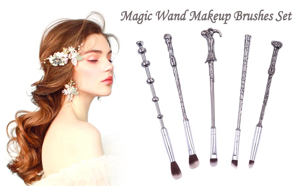 Magic Wand Makeup Brushes Set