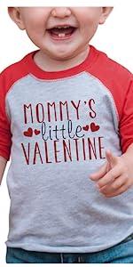 kids valentines day shirt little valentine love