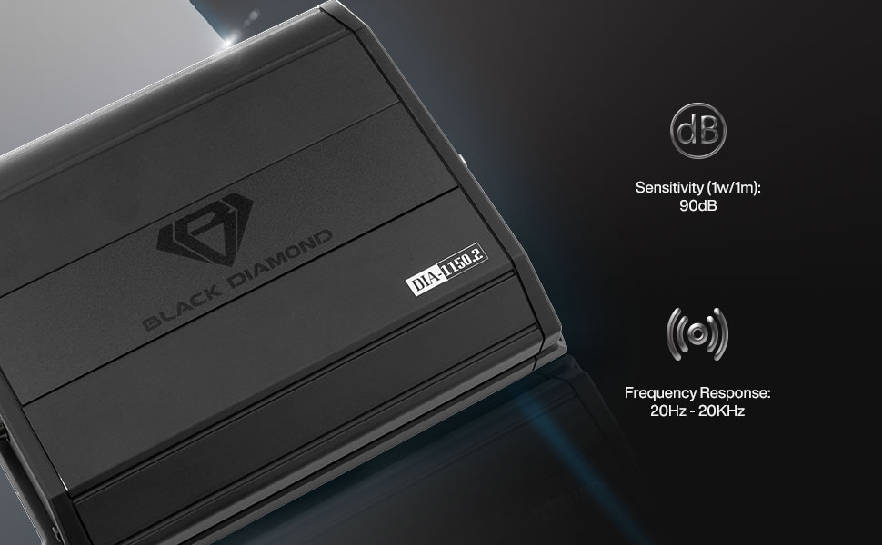 car audio amplifier 2 channels