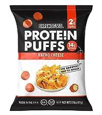 Nacho Cheese Protein Puffs