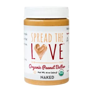 Spread The Love NAKED Organic Peanut Butter