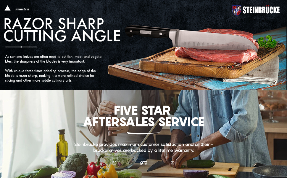 Razor Sharp and Five Star Aftersales Service