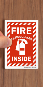 Fire Extinguisher - Do Not Block