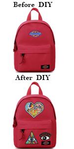 Choco Mocha DIY Mini Backpack Purse