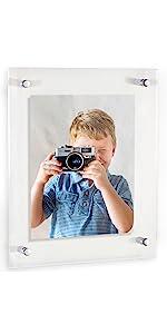 Custom Acrylic Floating Frame