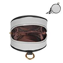 cute grey purses waterproof for women weekend shopper gift dating
