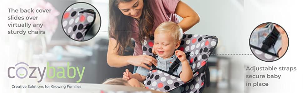Cozy Cover Easy Seat, Cozy Baby Easy Seat, Easy Seat Portable High Chair, Baby Portable High Chair