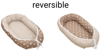 ullenboom baby baby lounger snuggle nest reversible