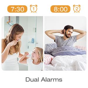 Dual Alarms