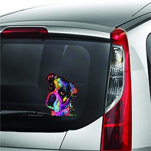 2 Pieces Enjoy It Dean Russo Beagle Car Stickers