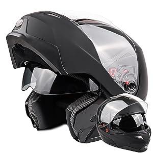 men's modular motorcycle helmet DOT approved