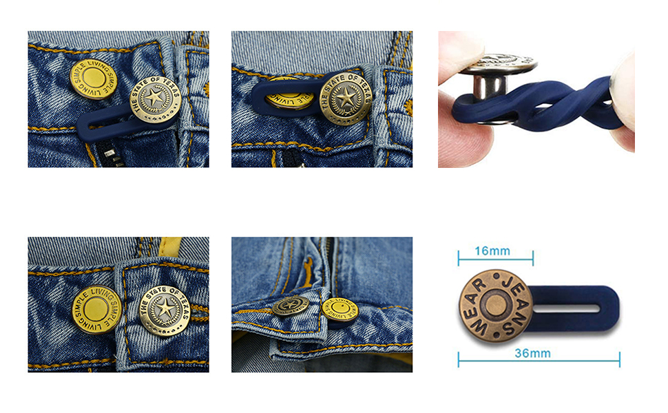 instant buttons jean button