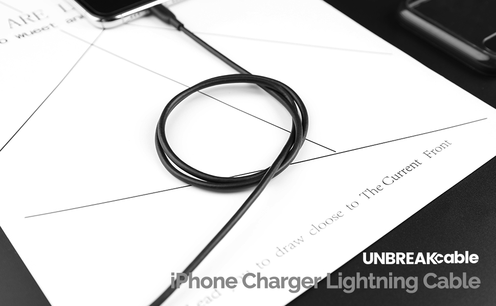 UNBREAKcable iPhone Charger Lightning Cable