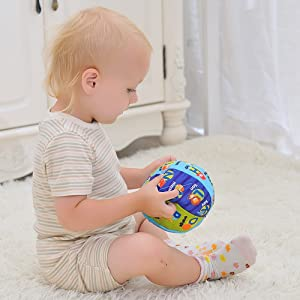 MAMMA Kiddie educational learning toys fabric cloth book first book for baby toddler cloth cards