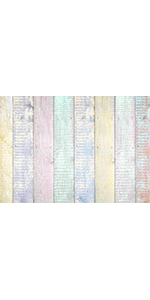 Colorful Wood Fence Photo Background Spring Easter Prom Party Photography 5x3ft
