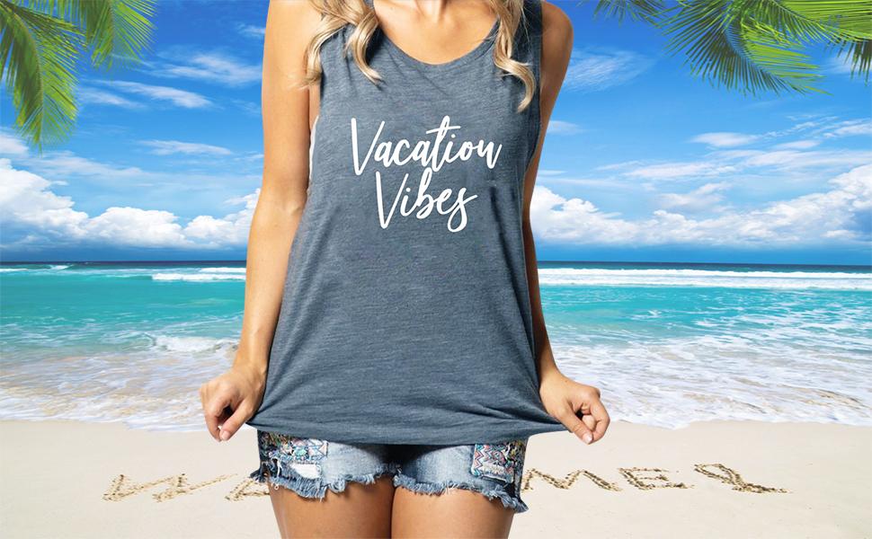 vacation tank top