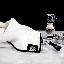 face towel facial beard mens wash dry cloth natural organic skincare