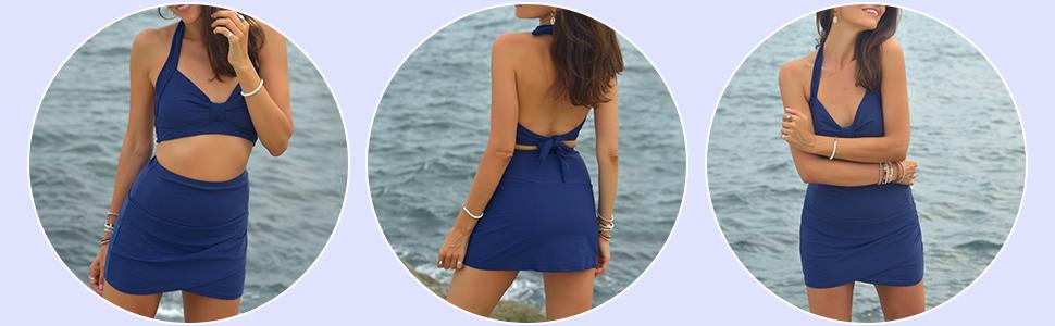 Chic Tankini Swimsuit Bottom for Women
