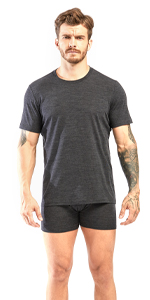 men wool t shirts