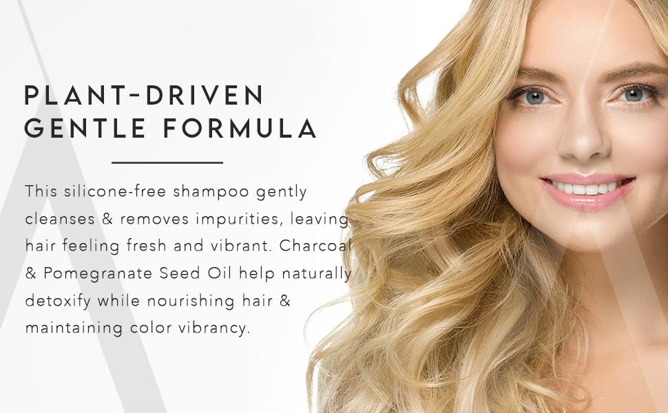 Gentle daily shampoo to remove impurities