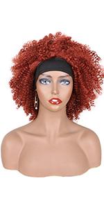 350# headband wig