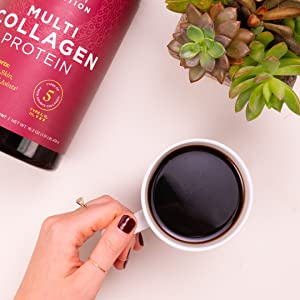 Have your collagen in your morning coffee