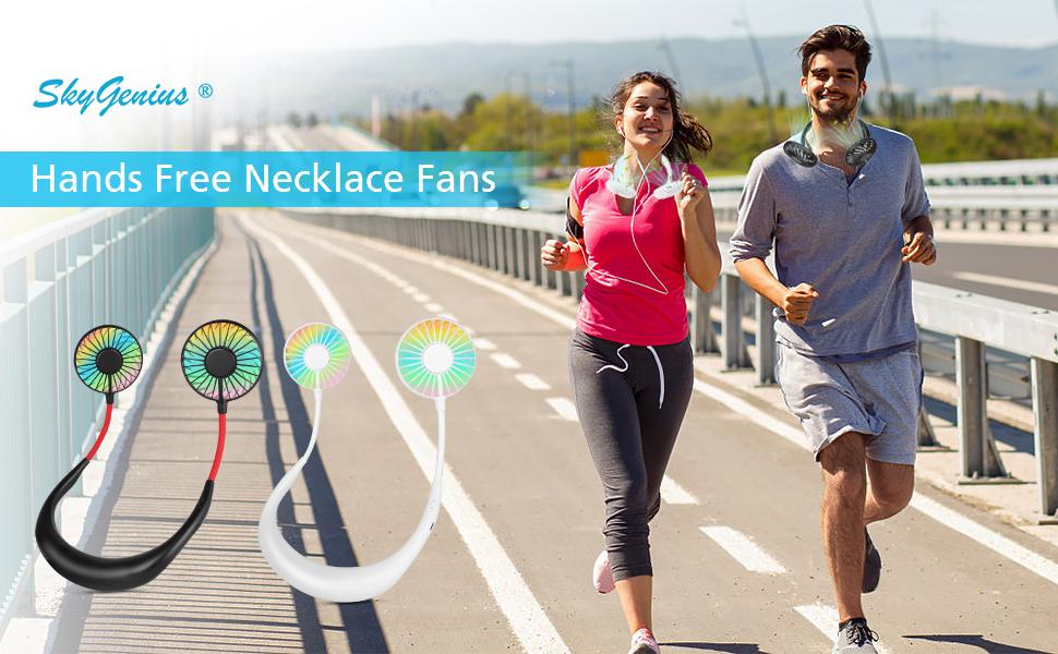 necklace fan