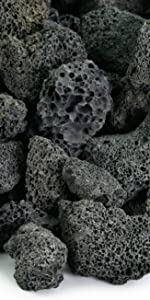 lava rock outdoor planters natural volcanic stones porus
