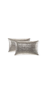 black glittery numbers pillows for design pillow shams white gray euro sham white and grey 12x20inch