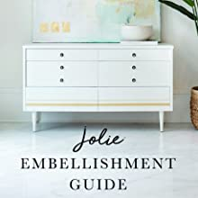 Jolie Embellishment Guide Paint Finishing Wax Colored Gilding Gold Metal Leaf Silver Copper Metallic