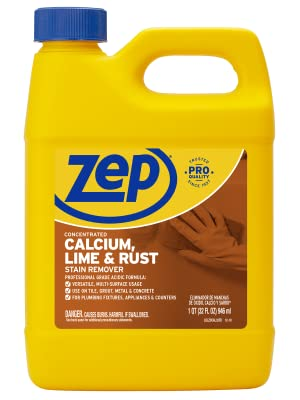 Zep Calcium, Lime and Rust Remover, Calcium Remover, Rust Remover
