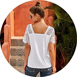 white v neck tshirt women