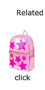 Star Sequin Backpack