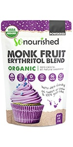Powdered Monk Fruit sweetener
