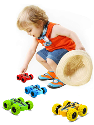 4 Wheels Drive Durable Friction Powered Car Toys