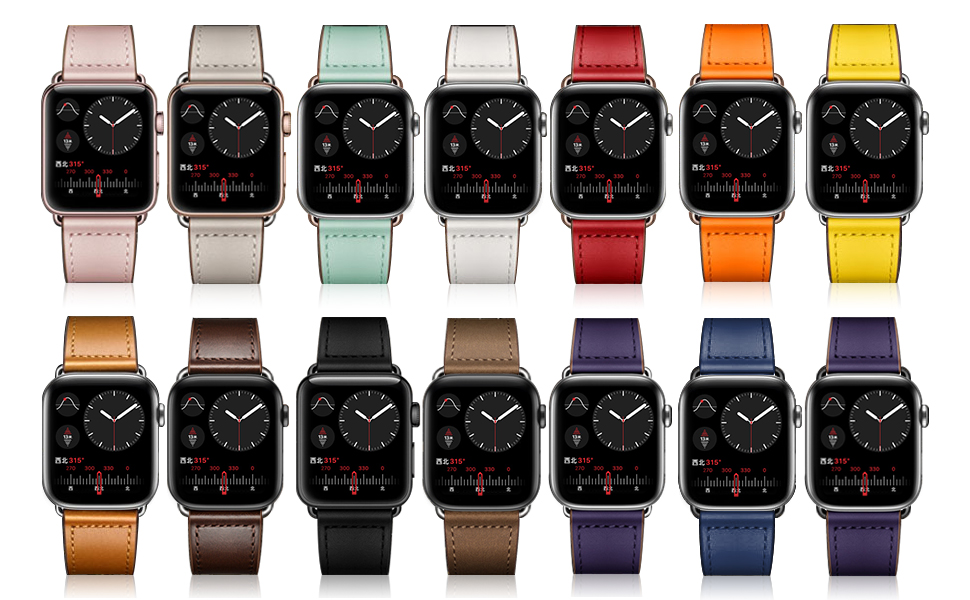 13 colors for apple watch bands